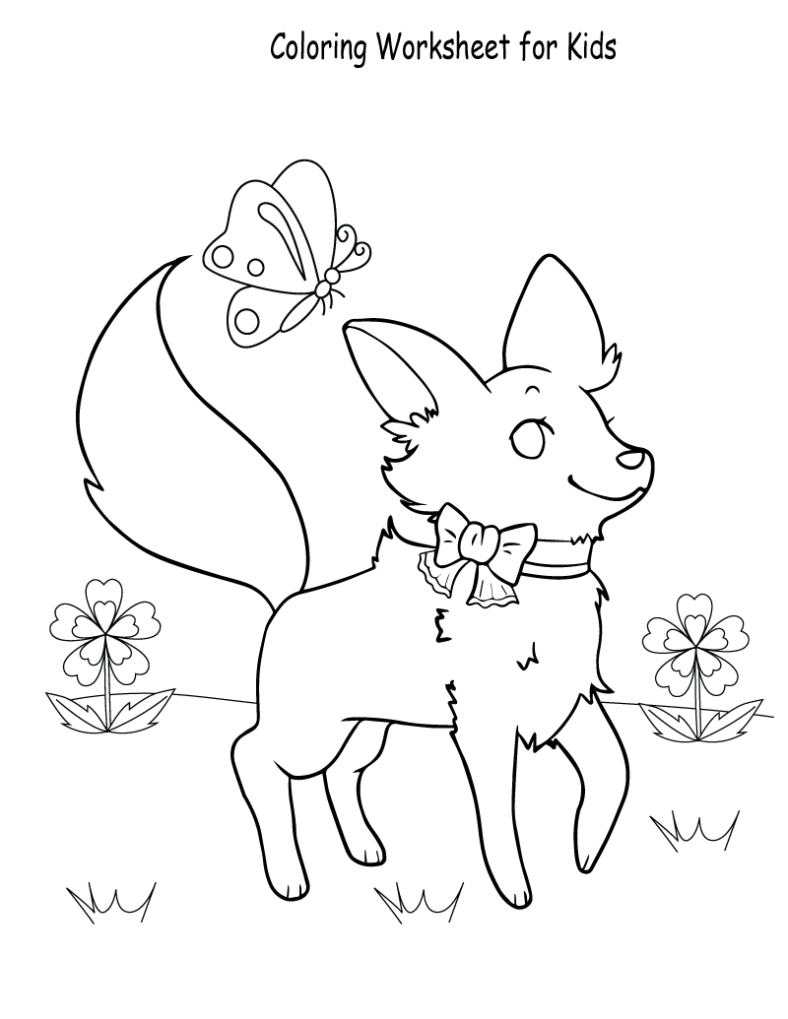 Fun Sheets for Kids Coloring