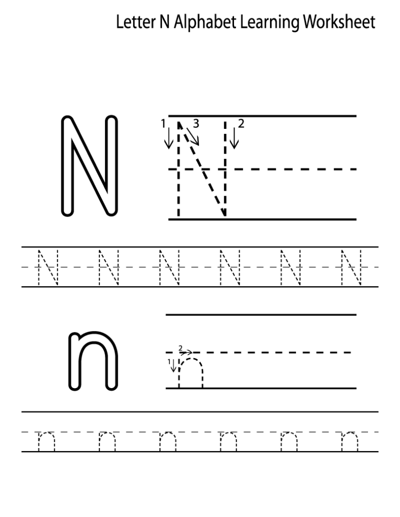 alphabet letter tracing printables for kids
