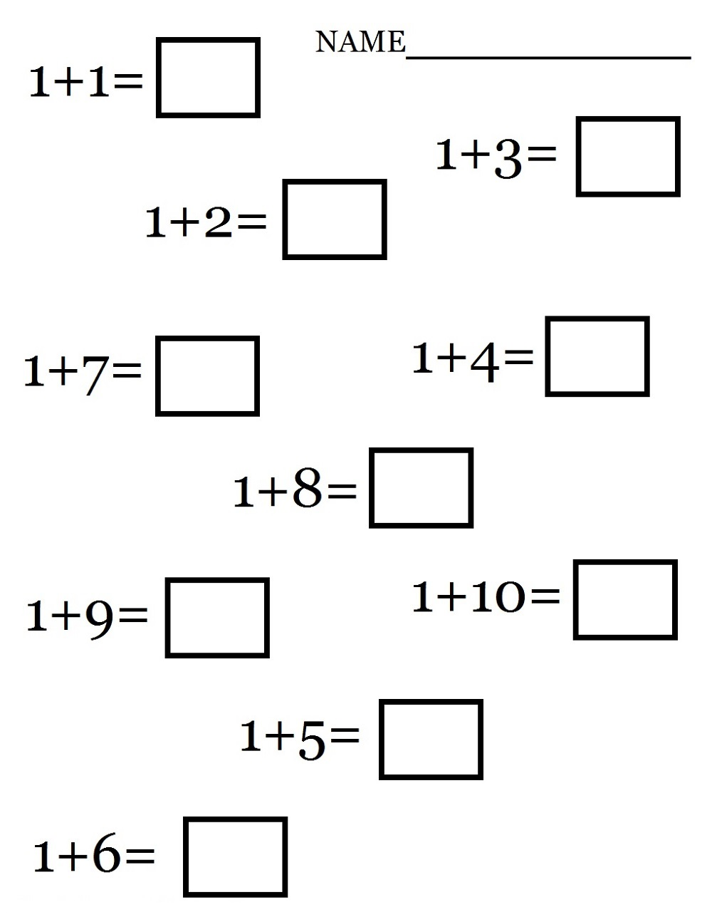 addition worksheets math