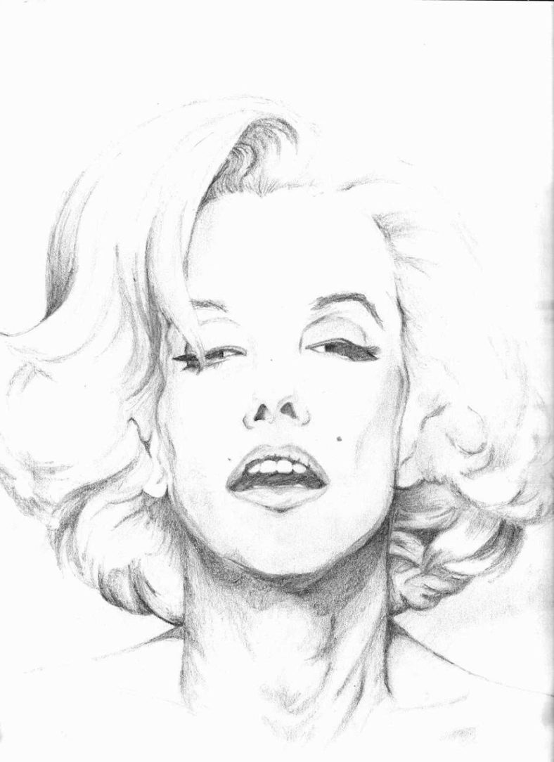 marilyn monroe coloring pages printable