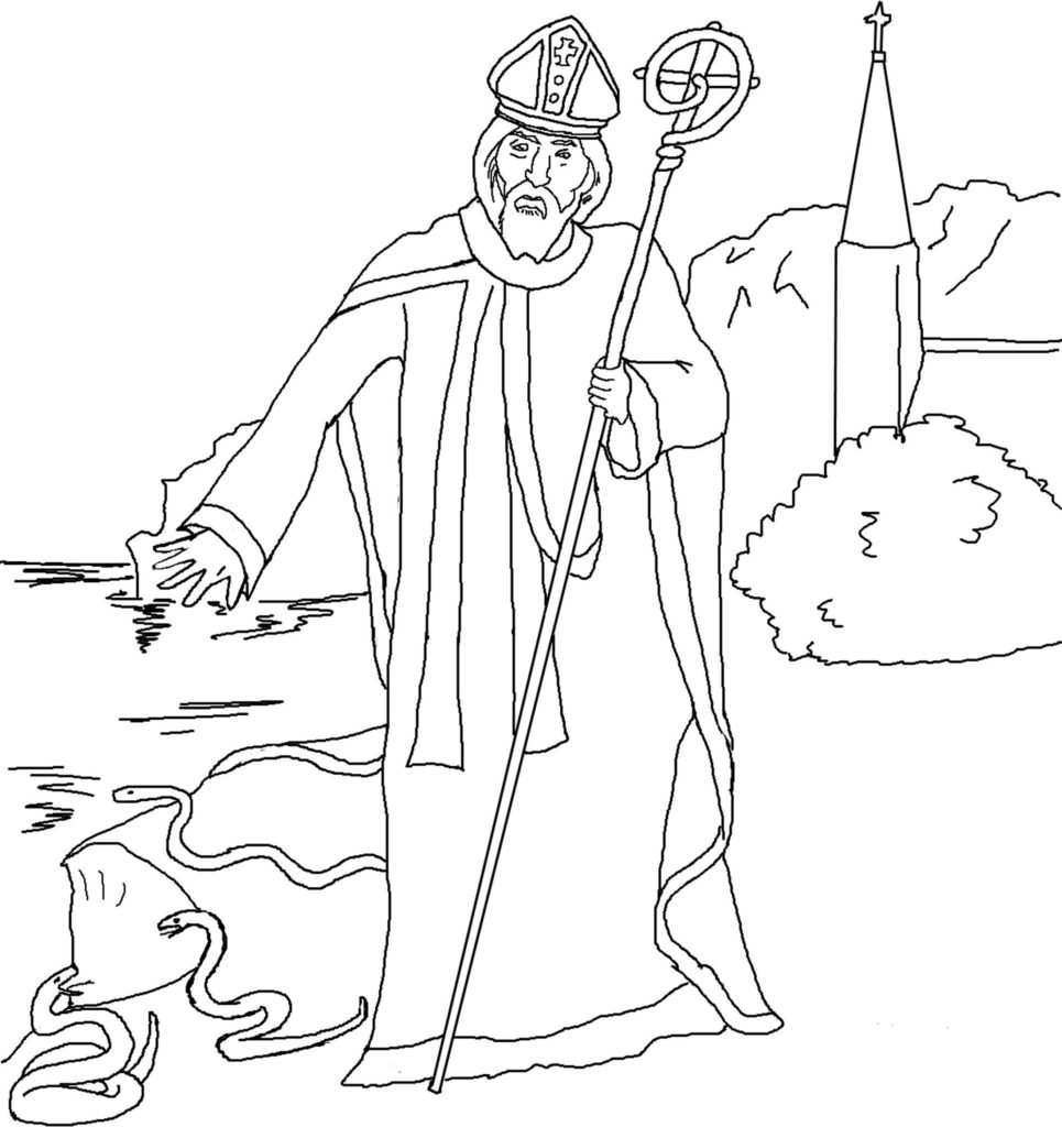 all saints day coloring pages activity